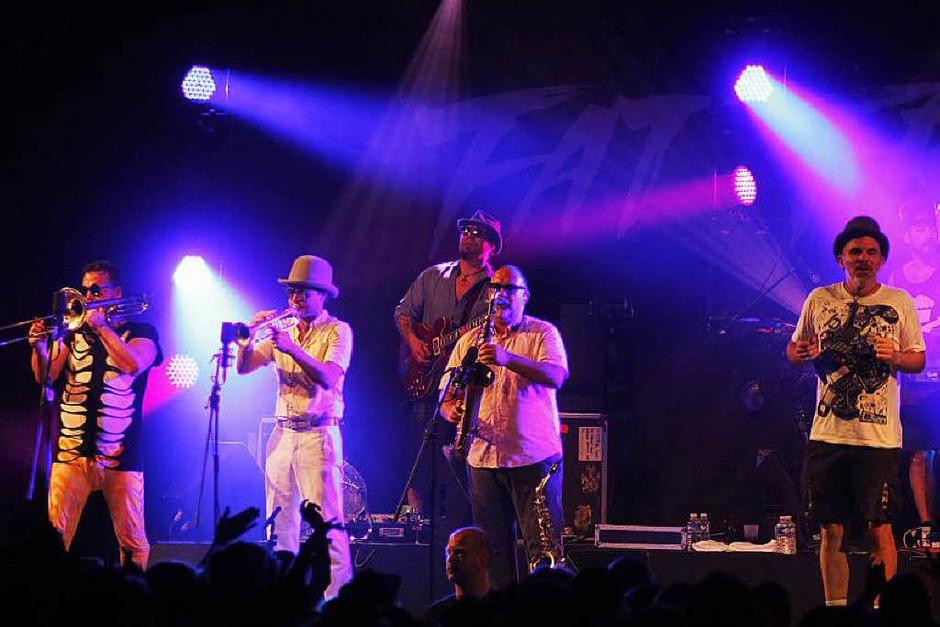 Vom anderen Ende der Welt: Die Band Fat Freddys Drop kommt aus Neuseeland. (Foto: Wolfgang Grabherr)