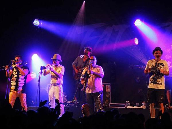 Vom anderen Ende der Welt: Die Band Fat Freddys Drop kommt aus Neuseeland.