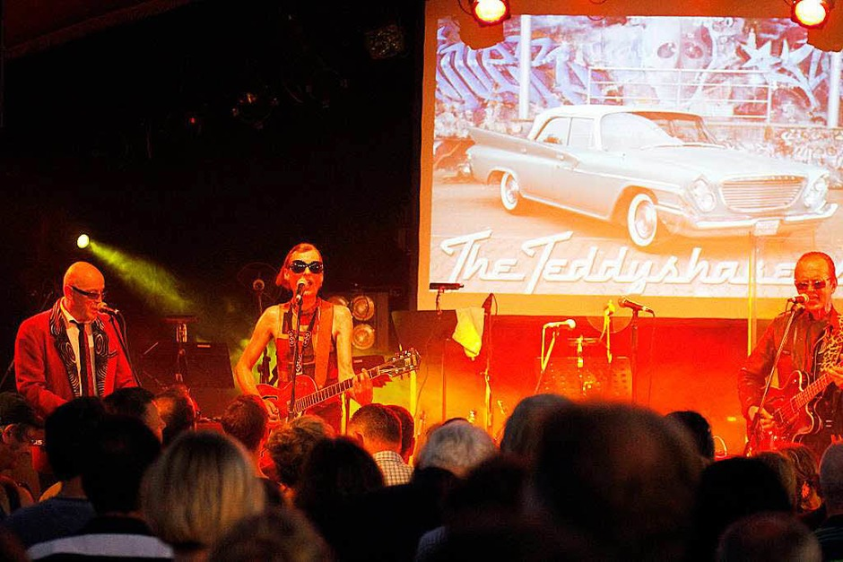 Freiburger Kultband: The Teddyshakers. (Foto: Wolfgang Grabherr)