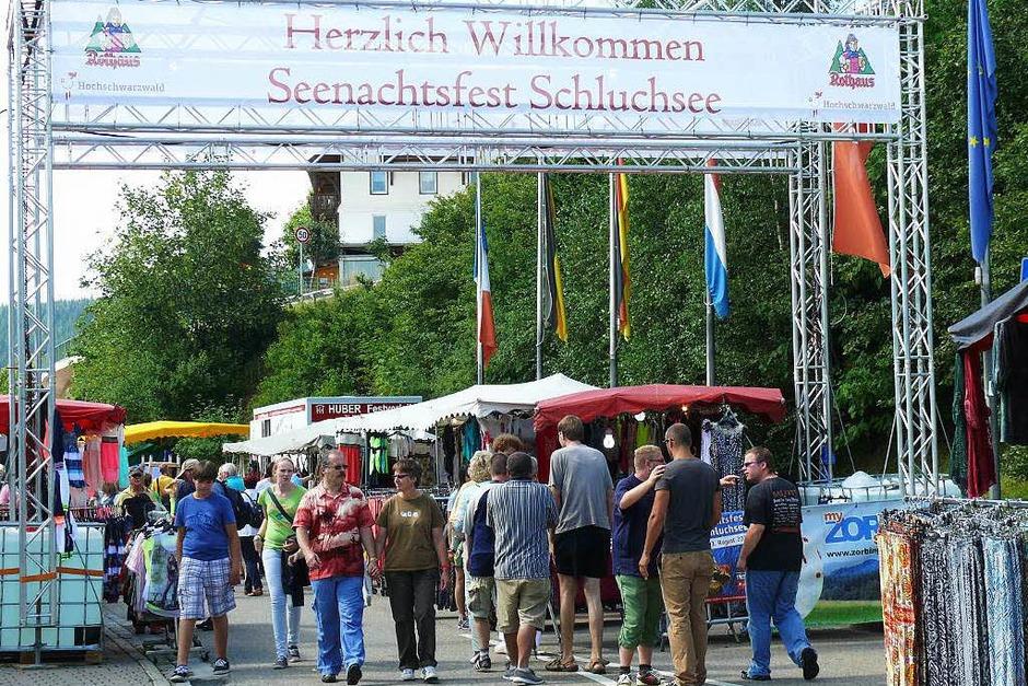 Das Seenachtsfest in Schluchsee (Foto: Ute Aschendorf)