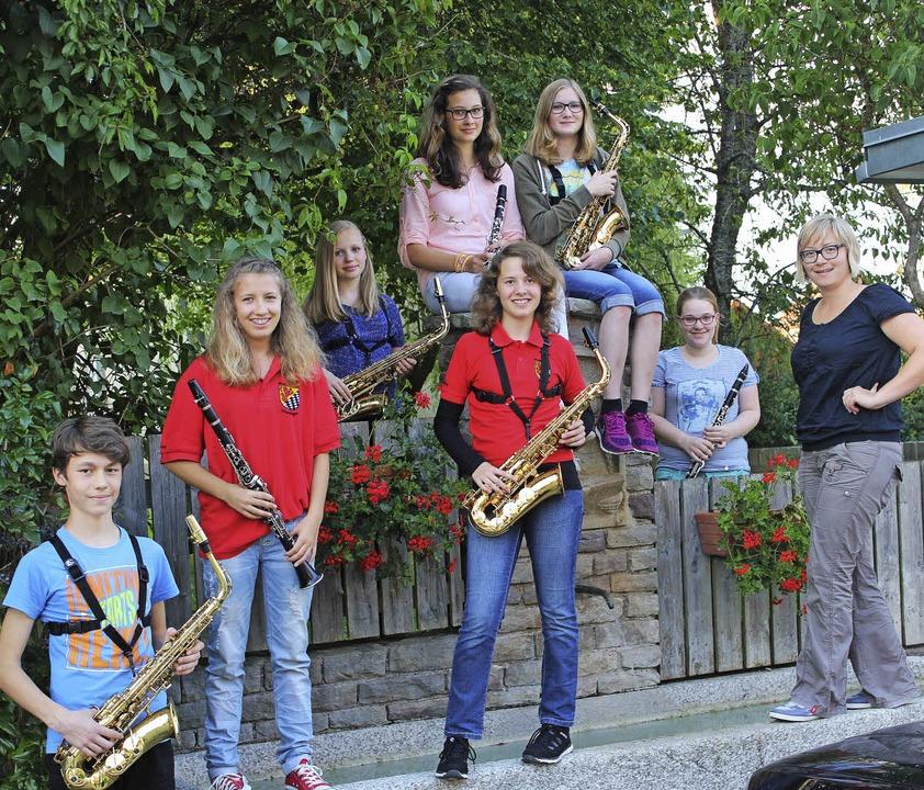 Silber und Bronze für Jungmusiker: Mar...istungsprüfungen erfolgreich gestellt.    Foto: Christa Maier
