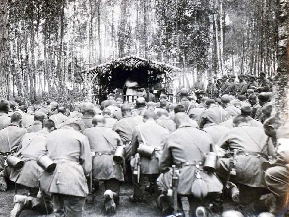 Nach dem Gebet ins Gefecht: Alltag im Ersten Weltkrieg  | Foto: Privat