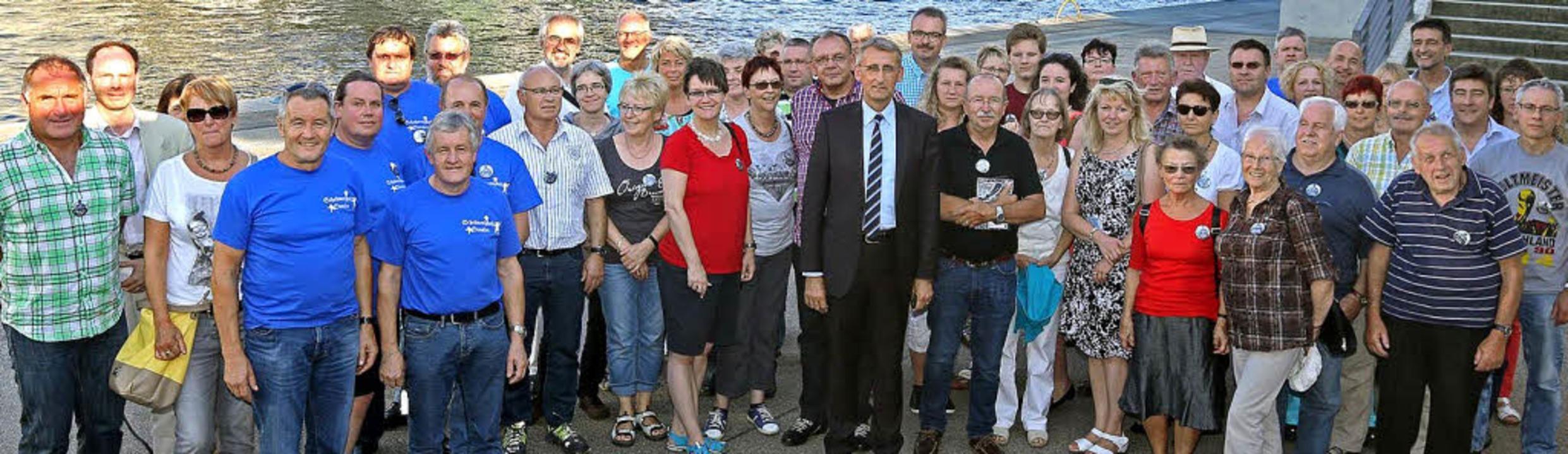 Bundestagsabgeordneter Armin Schuster ...n Berlin auch Gäste aus Weil am Rhein.    Foto: zVg
