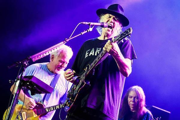 Der Rock lebt- Neil Young & Crazy Horse in Colmar