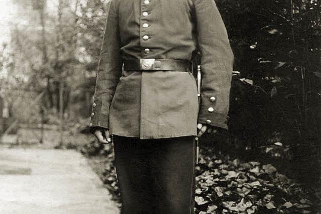 Freiburg im Ersten Weltkrieg (2): Der Soldat Willi Junge