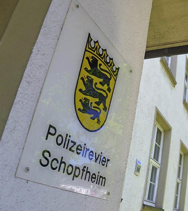 Das Revier Schopfheim ist flächenmäßig für den halben Landkreis zuständig.   | Foto: André Hönig
