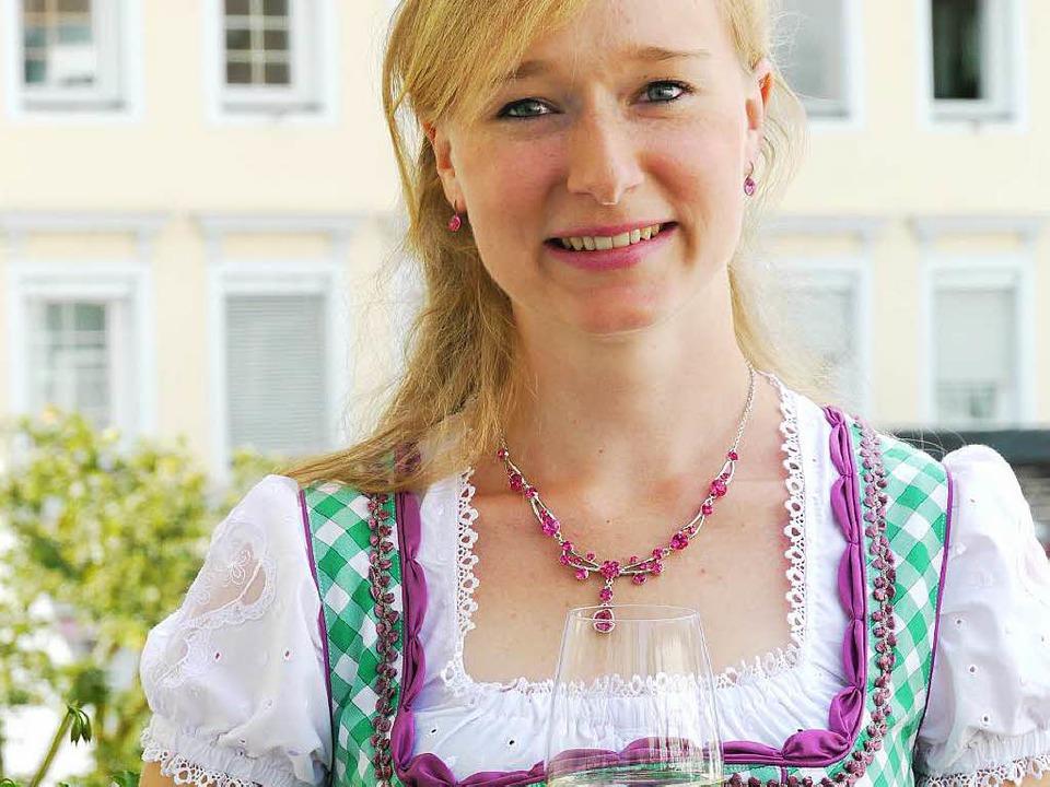Isabella Vetter, die neue Weinprinzessin für die Region Breisgau    Foto: Patrik Müller