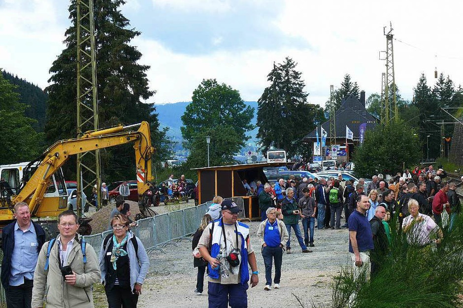 Beim Bahnhofsfest in Seebrugg herrschte reges Treiben. (Foto: Ute Aschendorf)