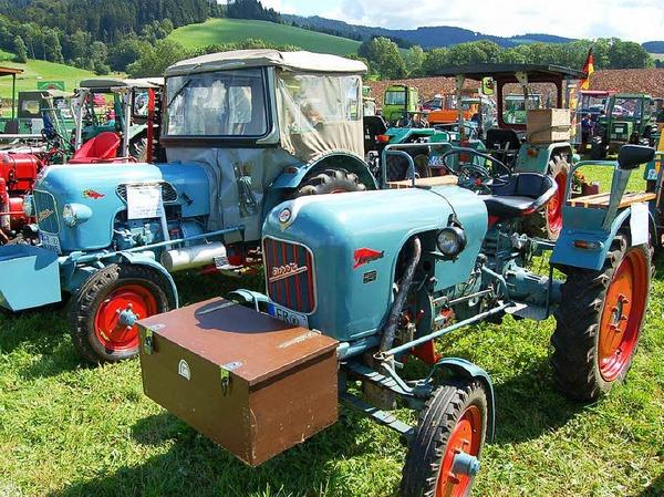 Der luftgekühlte Eicher war früher im Schwarzwald mit am meisten verbreitet.