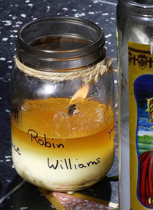 Erschütterte die Öffentlichkeit: Robin Williams' Suizid vergangene Woche  | Foto: dpa