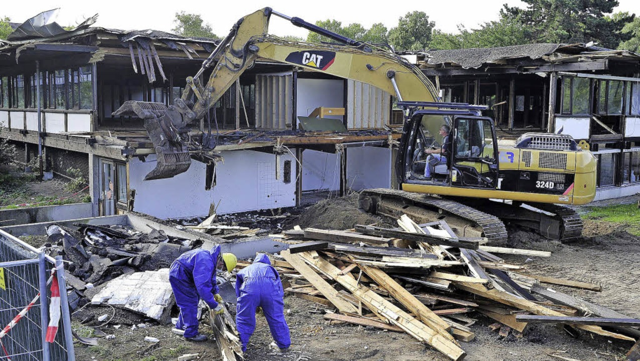 technisches rathaus pavillon wird abgerissen neubau beginnt im november freiburg badische. Black Bedroom Furniture Sets. Home Design Ideas