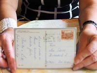 Postkarte kommt nach 23 Jahren in Breitnau an