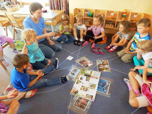 Präventionsarbeit in Kindergärten und Schulen