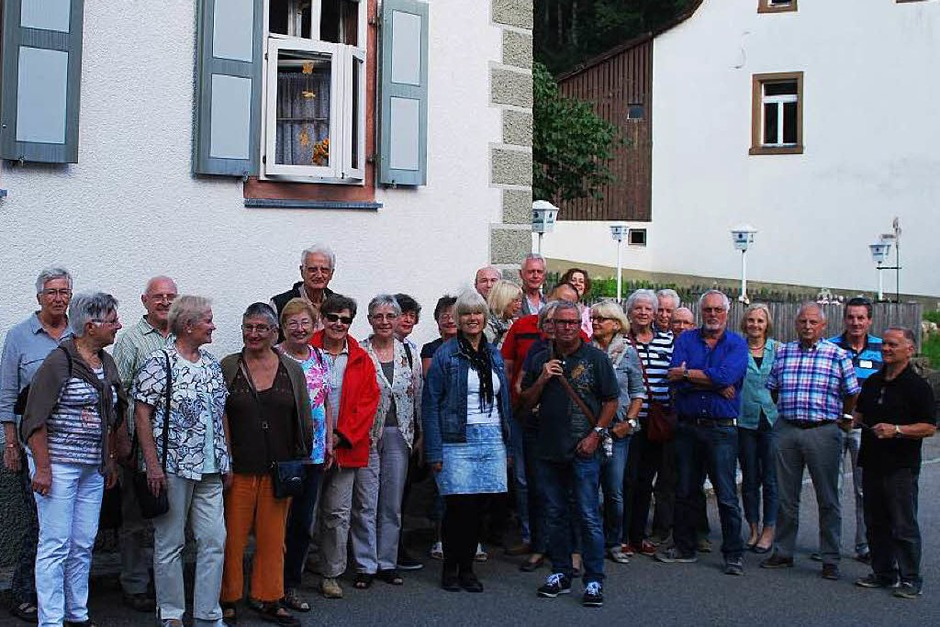 """Das Wirtshausmuseum """"Krone"""" in Tegernau erkundeten Leserinnen und Leser der BZ bei einer Ferienaktiion (Foto: Edgar Steinfelder)"""
