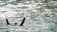 Rheinschwimmer: Chemieprofessor hat Nordsee erreicht