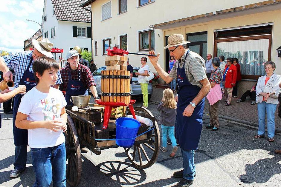 Impressionen vom <?ZP?> Sichlehenki-Fest (Foto: Vera Büchin)