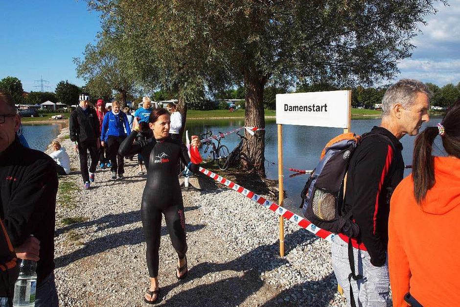 Impressionen vom Breisgau-Triathlon (Foto: Michael Haberer)