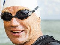 Rheinschwimmer: Professor Fath hat Nordsee erreicht