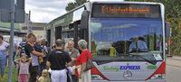 Weinfest-Veranstalter setzen wieder zahlreiche Sonderbusse ein
