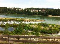 Kritische Haltung zum Rheinsteg bleibt