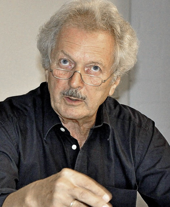 Professor Wolfram Wette, Historiker.   | Foto: Jelka Louisa  Beule