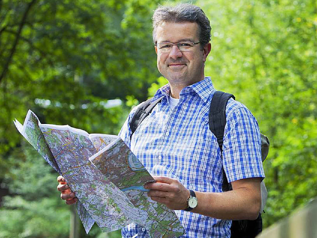 Warum Manuel Andrack eine Tour am Schluchsee leitet ...