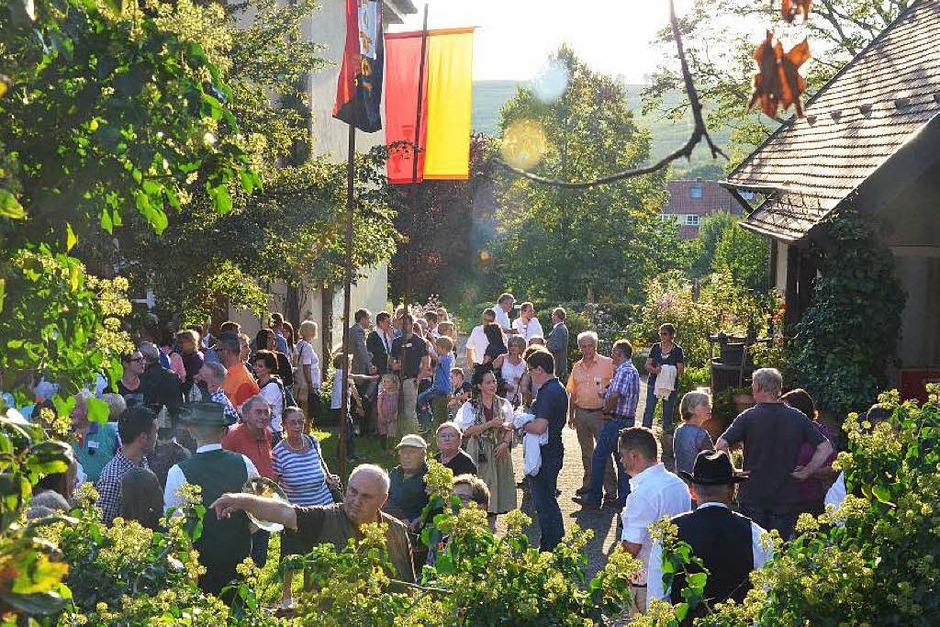 Eröffnung der Sonderausstellung am Dorfmuseum (Foto: Thomas Goebel)