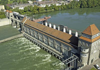 Besichtigung des Laufwasserkraftwerks Laufenburg