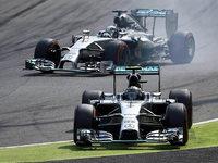 Nico Rosberg bremst sich in Monza selbst aus