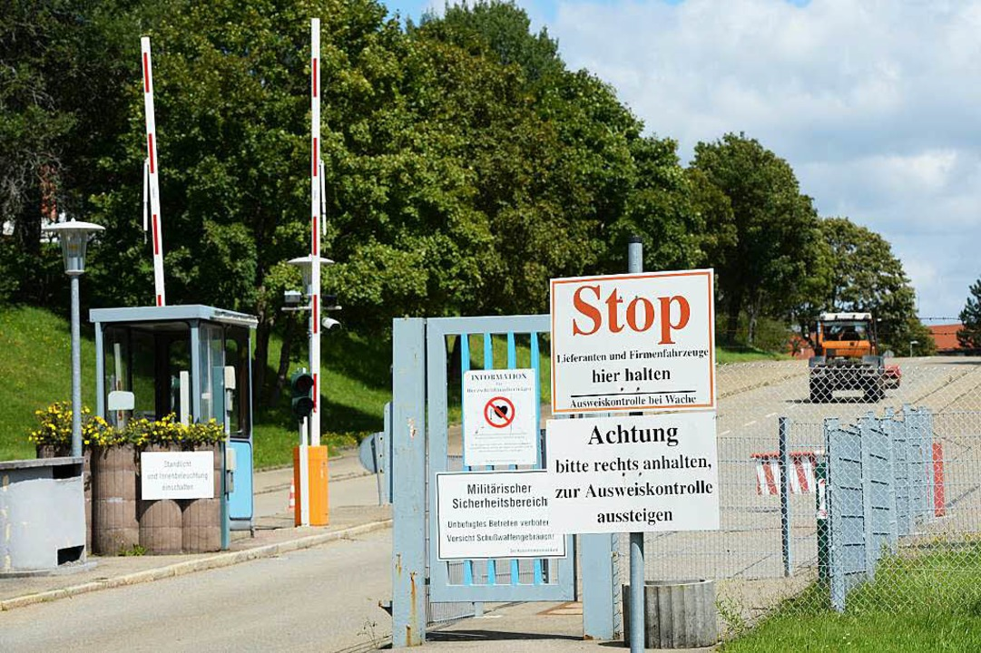Die Kaserne in Meßstetten wurde von de...n und ist daher kurzfristig verfügbar.  | Foto: Felix Kästle