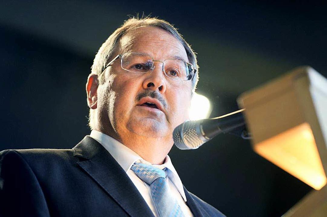 Bürgermeister Lothar Mennig befürwortet die Einrichtung.  | Foto: Felix Kästle