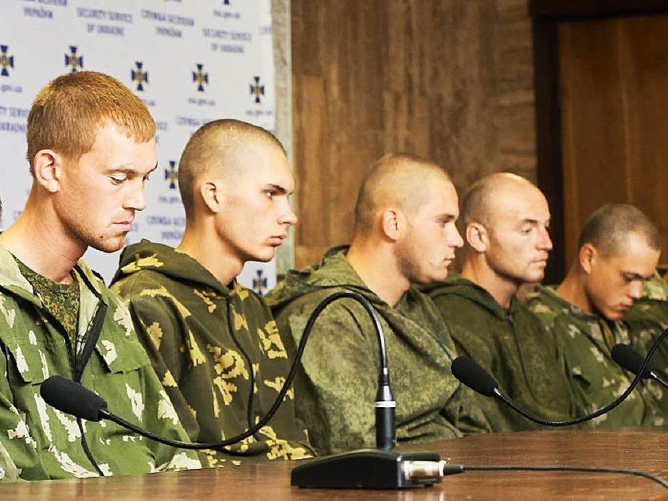 15000 russische Soldaten sollen laut d...mjäger wurden dort gefangen genommen.   | Foto: dpa