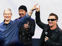 Rockband U2 veröffentlicht Gratis-Album bei iTunes