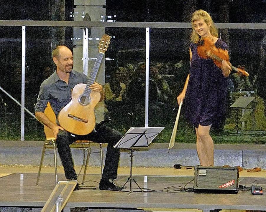 Argentinische Folklore und Tangos füllten die Spendenkasse.  | Foto: lotz