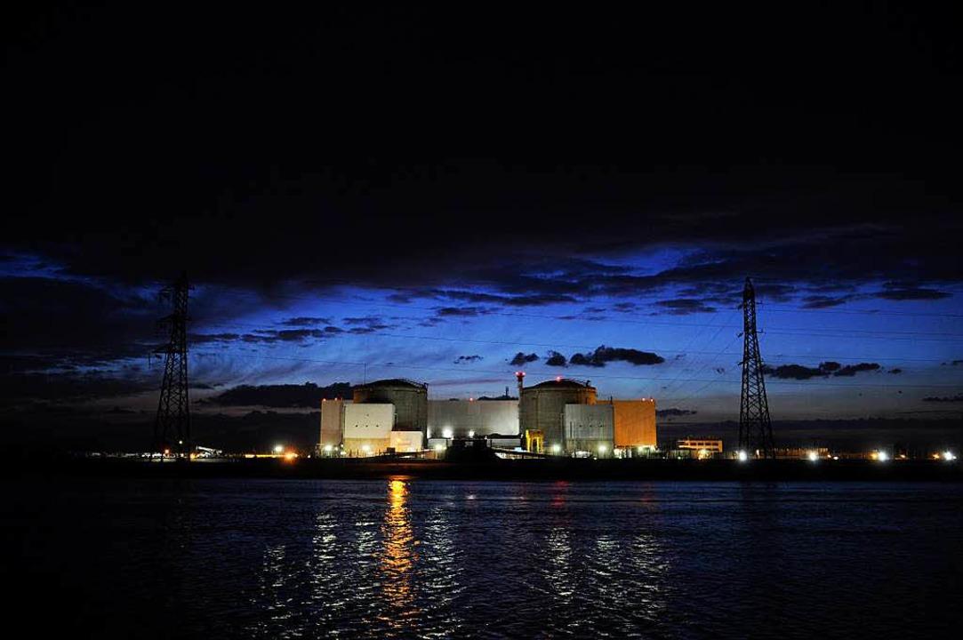 In diesem Frühjahr sind im Atomkraftwe...im einige Bereiche überflutet worden.   | Foto: afp-Archiv/BZ