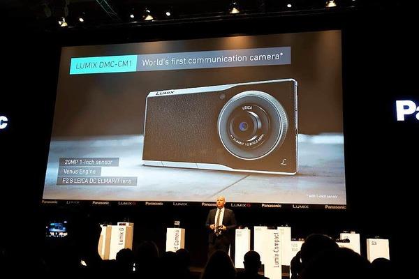 Weltpremiere der  Kamera, die telefonieren kann: Panasonic Lumix CM1, Android-Smartphone  mit 1-Zoll-Sensor und Leica-Objektiv