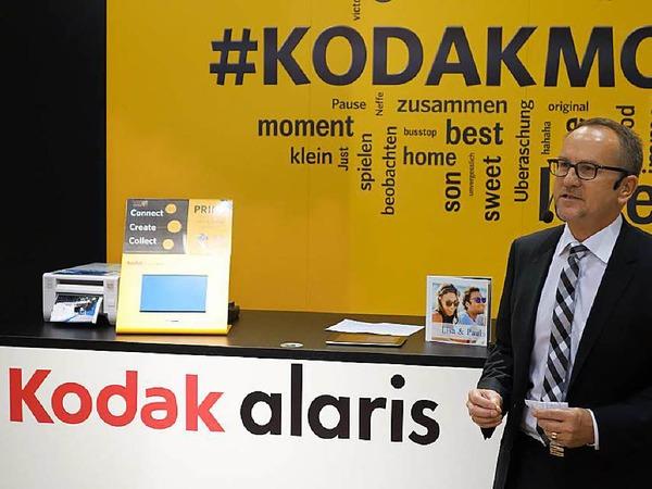 Ralf Gebershagen, ein deutscher CEO, soll's richten: Kodak stellt sich nach der Pleite neu auf, u.a. mit einfachen Foto-Ausdruckstationen