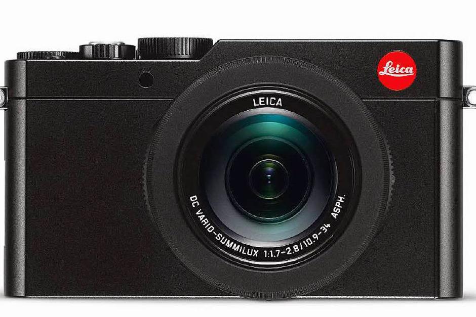 Doppeltes Lottchen: Die 995 Euro teure Leica D-Lux Typ 109  und die Panasonic LX100 sind technisch gleich, haben aber andere Gehäuse (Foto: dpa-tmn)