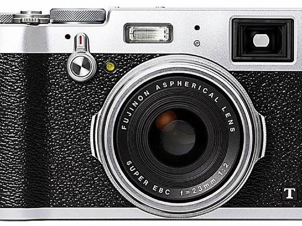Im Retrodesign:  Edelkompakten Fujifilm X100T  mit APS-C-Sensor und Festbrennweite,  Hybridsucher und WLAN