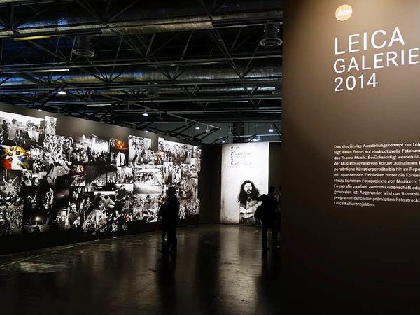 Ort der Stille: Die Leica-Galerie in Halle 1 zeigt bedeutende Bilder bedeutender Fotografen