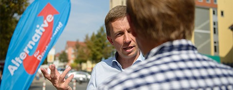 Was bedeuten die Erfolge der AfD f�r die CDU?