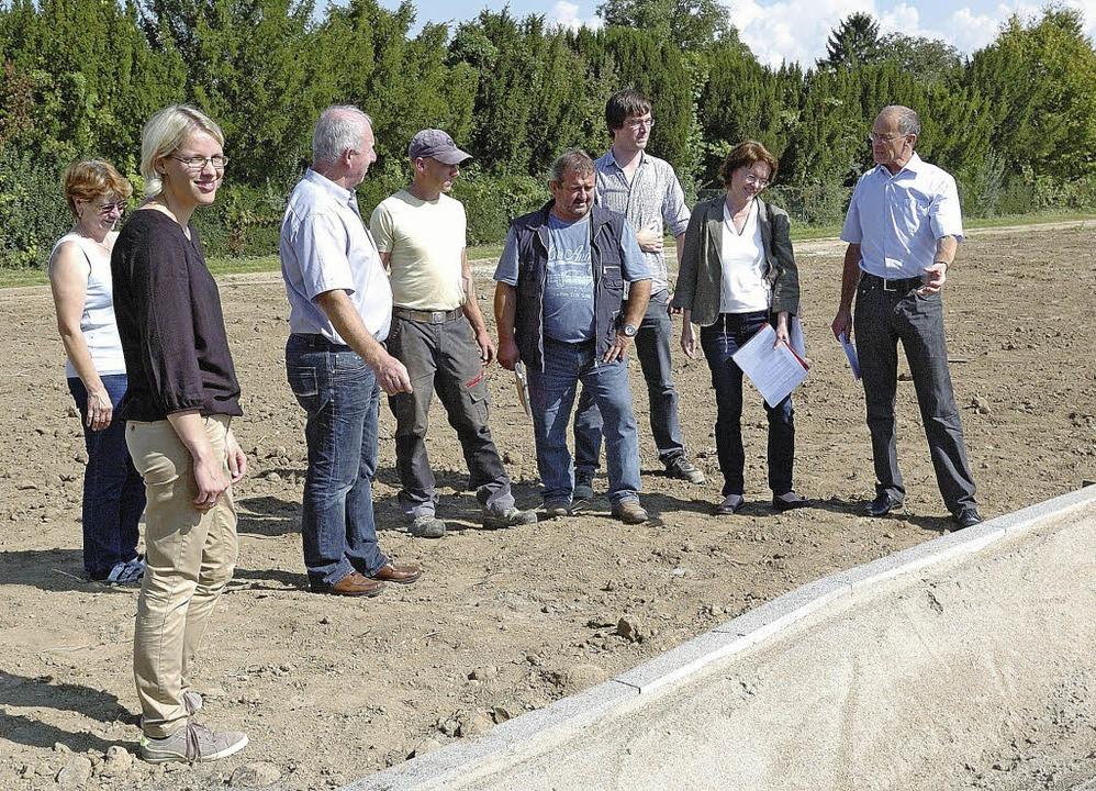 """Die Übergabe und Abnahme des neuen Bau..."""" in Wyhl  erfolgte am Dienstag.    Foto: Jürgen Schweizer"""