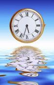 Wenn die Zeit �ber der Zeit liegt