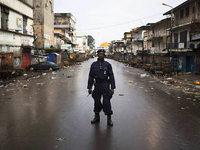 Die H�lle auf Erden: Liberia leidet unter der Ebola