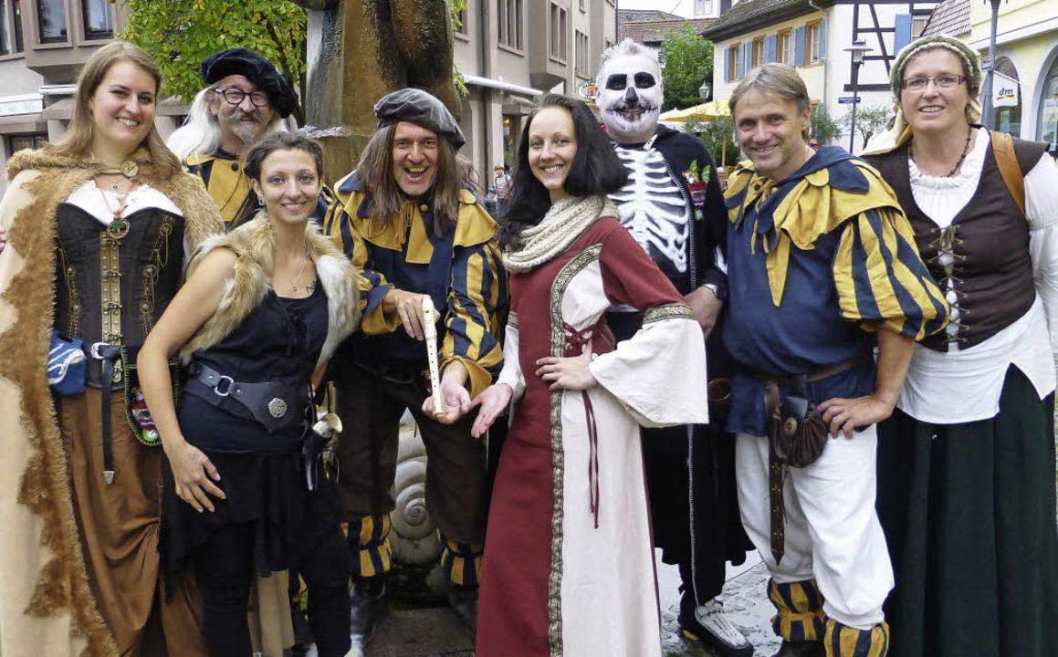 Stolz auf die Emmendinger Flöte sind d... Frank Hausin und  Annemarie Kalmbach   | Foto: ZVG