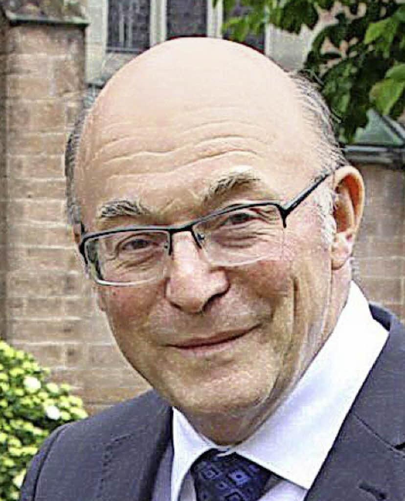 Pfarrer <b>Bernhard Benz</b> mit 72 Jahren gestorben - 91385204