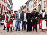 Das Mittelalter kehrt zurück – wenigstens kurz