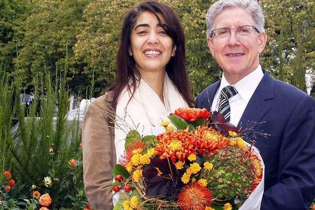 Die Botschafterin der Lahrer Chrysanthema steht fest