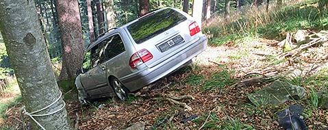 Auto im Wald: Mysteri�ser Schauinsland-Unfall gekl�rt