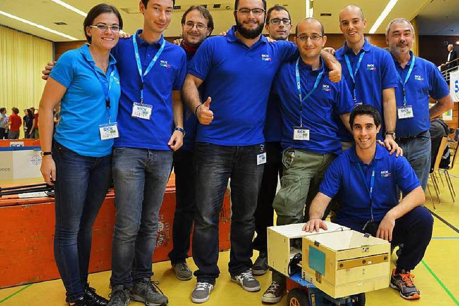 Die Siegermannschaft aus Parma. (Foto: Sylvia Timm)